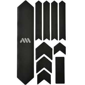 All Mountain Style Extra Frame Protection Kit 10 Pieces black/silver